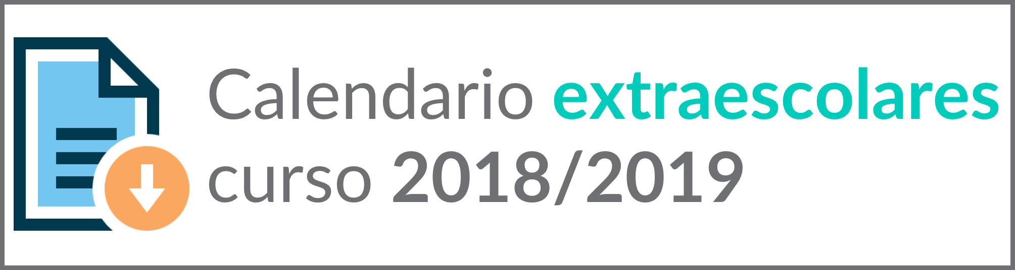 calendario academia 2017-2018
