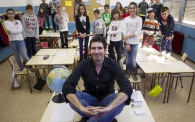 Así da clase el candidato español al 'Nobel' de los profesores