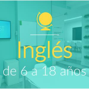 Inglés general de 6 a 18 años