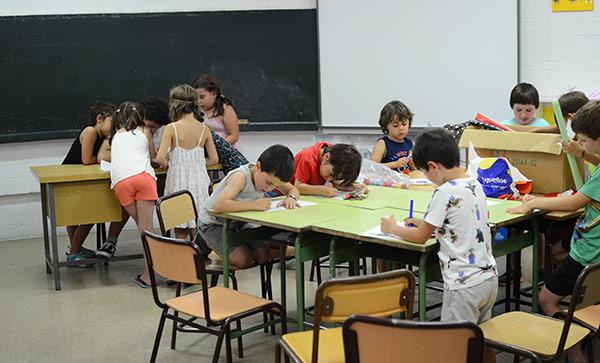 Actividades extraescolares de refuerzo escolar