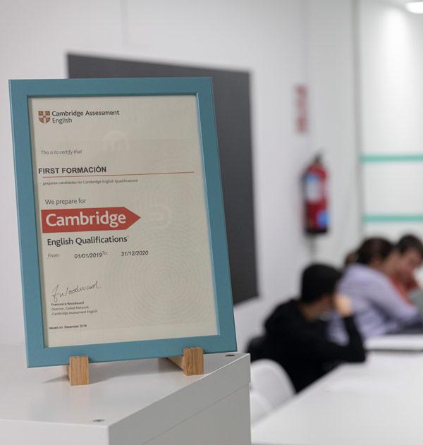 Exámenes oficiales de Cambridge en Madrid